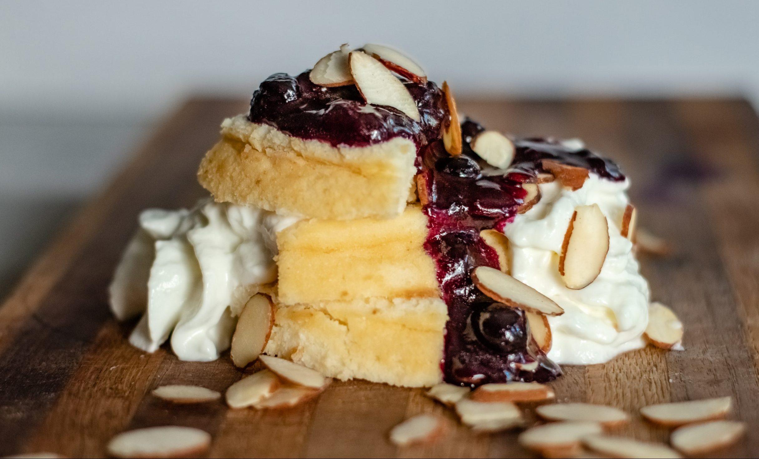 Crustless Cheese Cakes